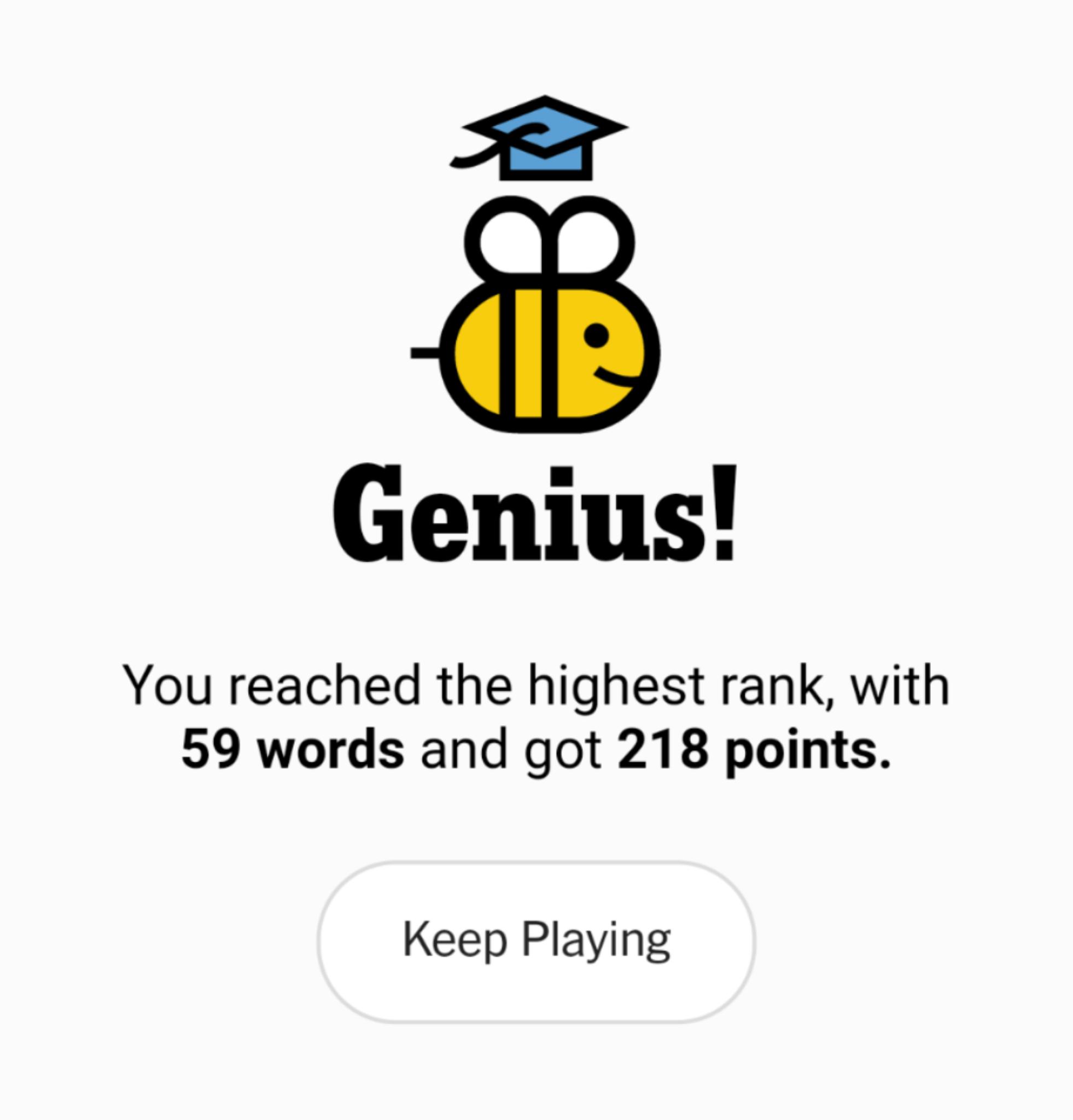 NYT Spelling Bee 9-23-20 final