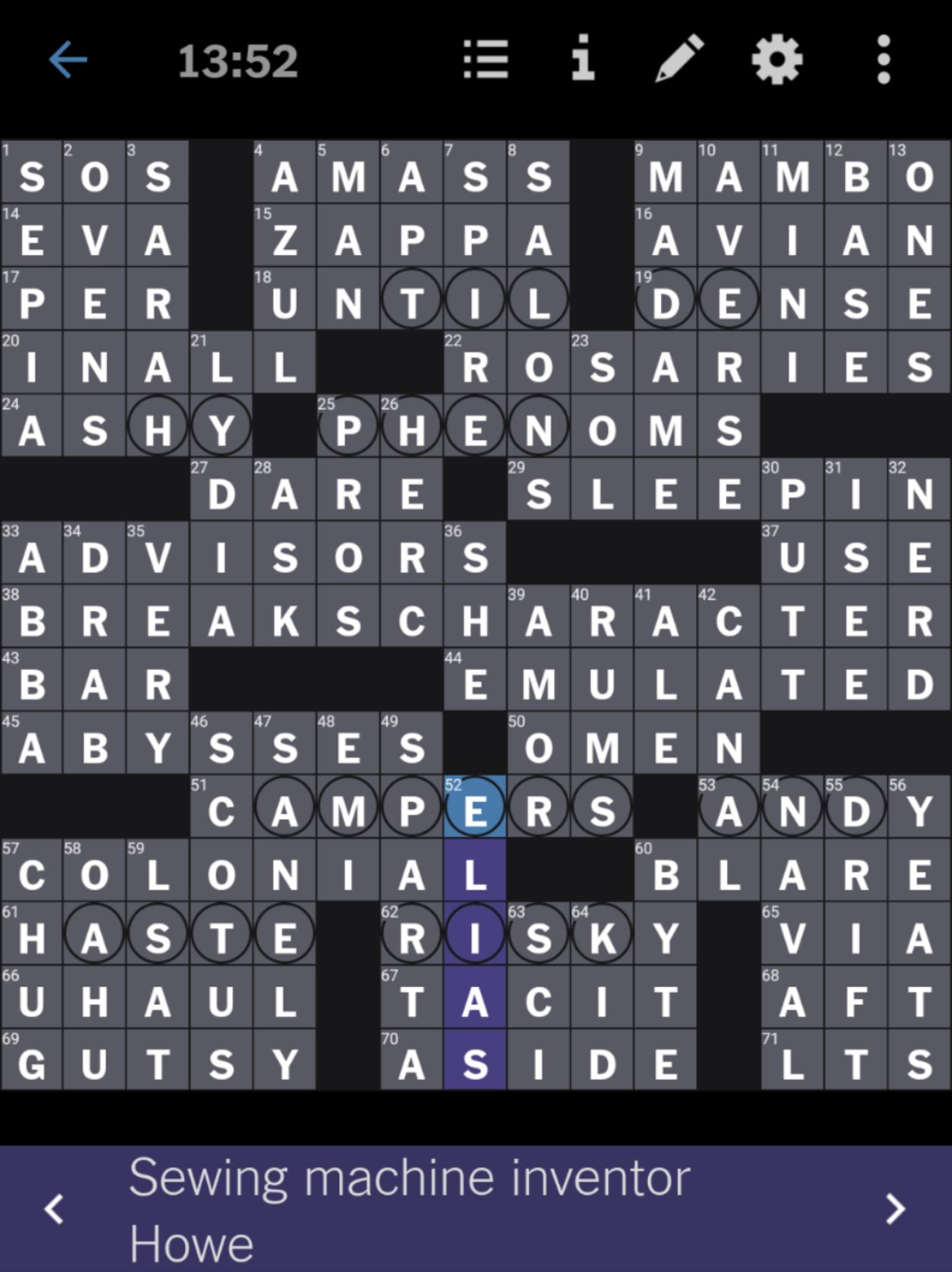 NYT Crossword 9-29-20 complete