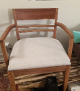 Woodworking: First-ever cushions project (final part)