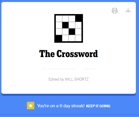 NYT Crossword Puzzle 6-12-21 Complete