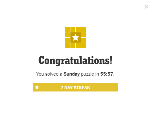 NYT Crossword Puzzle 6-13-21 Complete (contains spoilers)